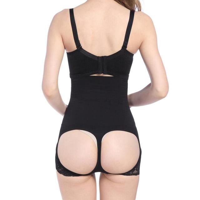 Butt Lifter Hot Body Shapers Tummy and Butt shaper Women Open Bottom Bum Lift Shapers