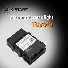 x-start car auto headlight sensor automatic turn on light response control system opener for toyota corolla levin highlander