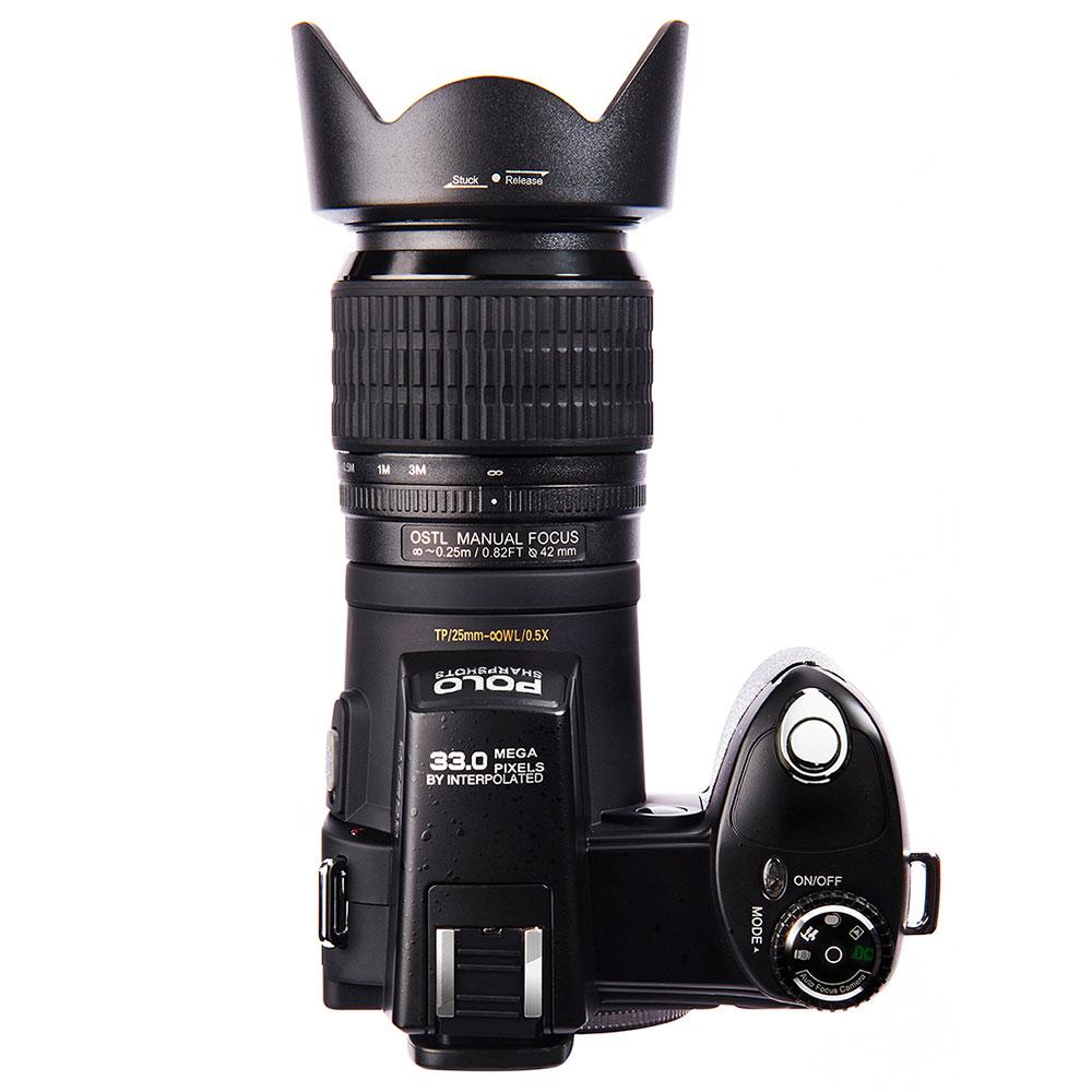 Cewaal 33.0MP AF Video DSLR Highly Sensitive HD Camcorder High Performance Shutter HD Digital Camera Wide Angle