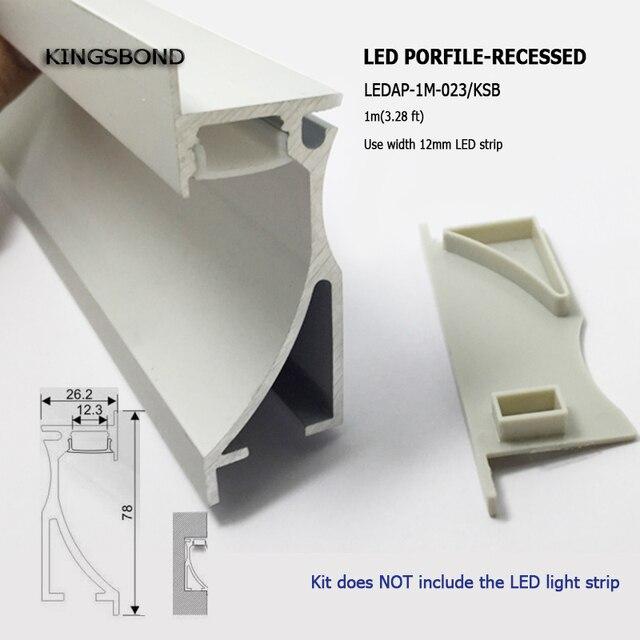 10pcs Lot Aluminum Profile For Stair Lights Led Corner Lighting Led