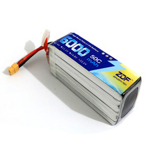 ZDF Lipo 2S 3S 4S 6S 7.4v 11.1V 14.8v 22.2v 6000mah 50C max 100C lipo battery for Trex-450 Fixed-wing Helicopter Quadcopter
