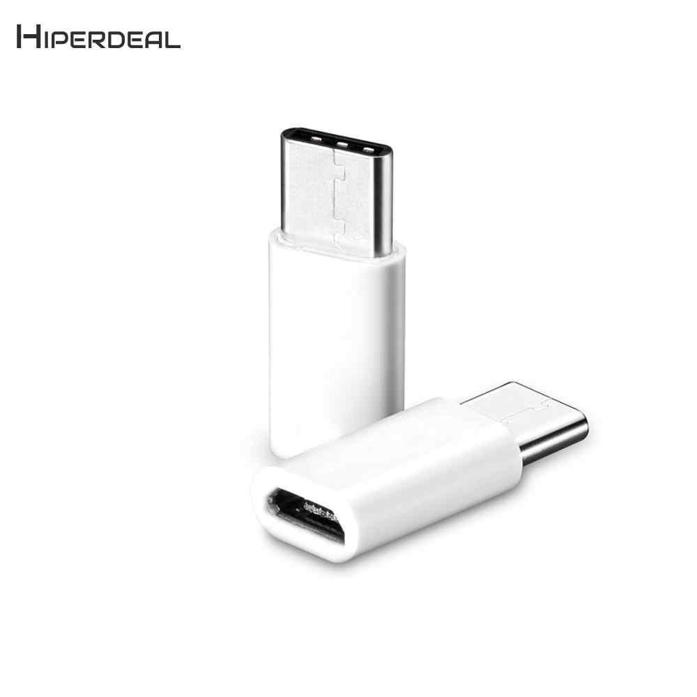 HIPERDEAL 2 قطعة USB إلى نوع-C بيانات محول محول الشحن ل نوع-C هاتف ذكي الذكية اكسسوارات BAY09