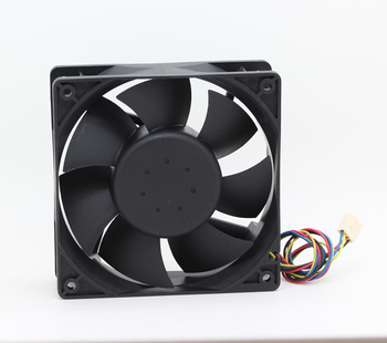 Free Shipping Delta AFB1212SHE 12038 12cm 1.6A 12v 4wire PWM 40cm long line of fan for Delta 120*120*38mm