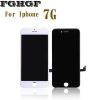 FGHGF OEM 휴대 전화 LCD 화면 10 개/몫 아이폰 7 그램 디스플레이 4.7 인치 터치 등급 AAA 품질 100%