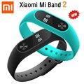 Original xiaomi xiaomi mi banda banda 2 pulsera inteligente 2 pulsera de Pantalla Táctil OLED IP67 Perseguidor de La Aptitud Del Ritmo Cardíaco de Bluetooth 4.0