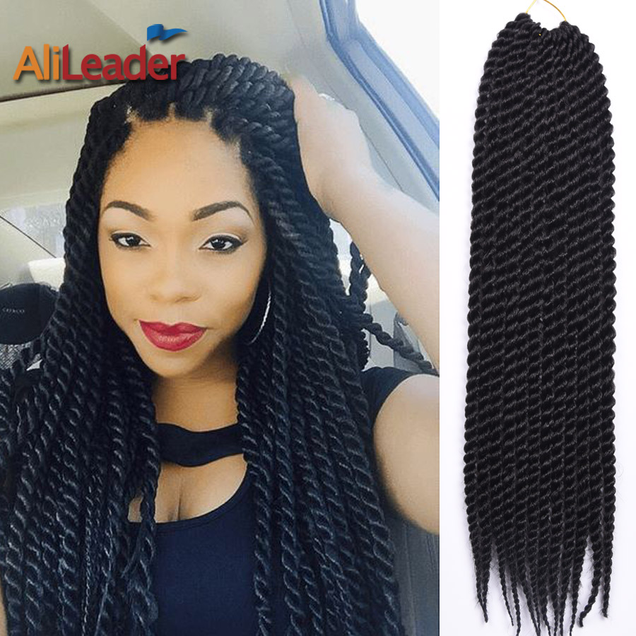Crochet Hairstyles : 2016 New Havana Mambo Twist Crochet Braids Hairstyles 9 Colors 22inch ...