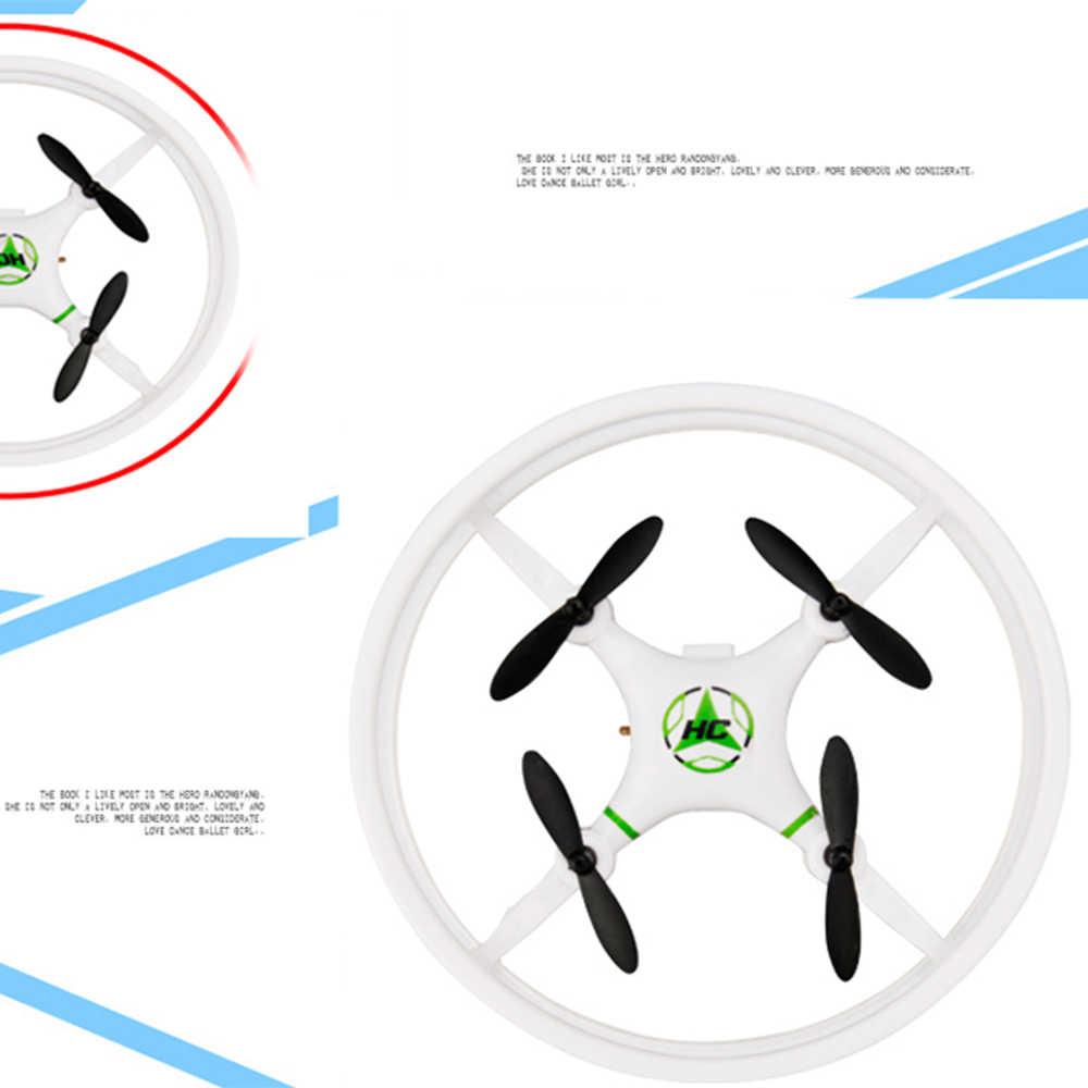 Мини дрона с дистанционным управлением 4CH 6 оси Квадрокоптер Карманный 2,4 Ghz Дистанционное Управление вертолет беспилотный летательный аппарат VS JJ H37 H36 JXD 523