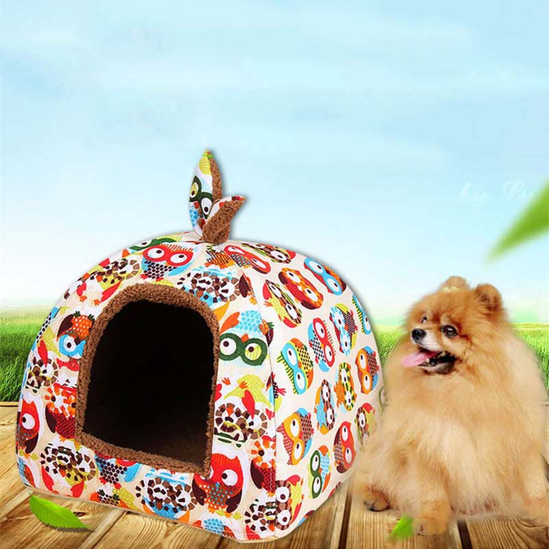 Yurt Bed House For Dogs and Cats Beds & Sofas