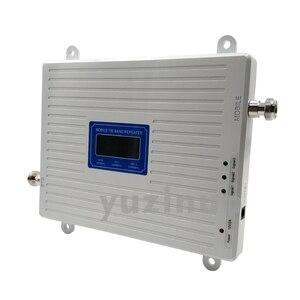 Image 5 - 65dB Tăng Màn Hình Hiển Thị LCD 2G 3G 4G Ba Dây Tăng Áp GSM 900 + DCS/LTE 1800 + FDD LTE 2600 Điện Thoại Di Động Lặp Tín Hiệu Khuếch Đại