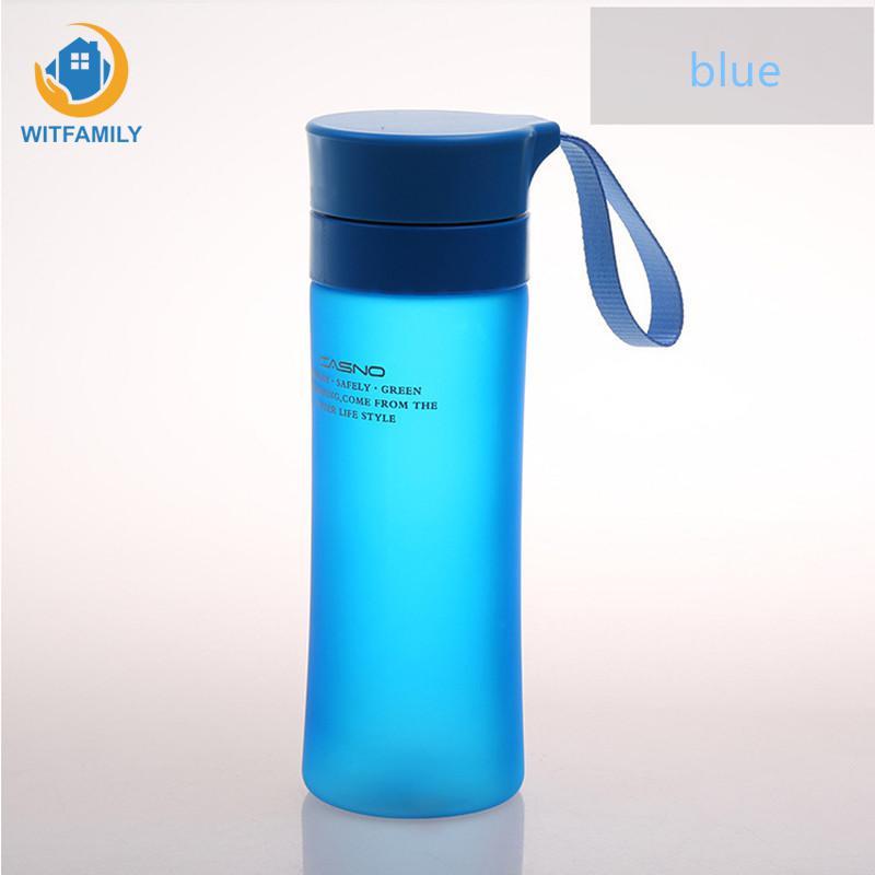 500ml With Lid Bottles Children Plastic Drinkware Tour Outdoor Sport School Leak Proof Seal Travel Camping Drinking Water Bottle