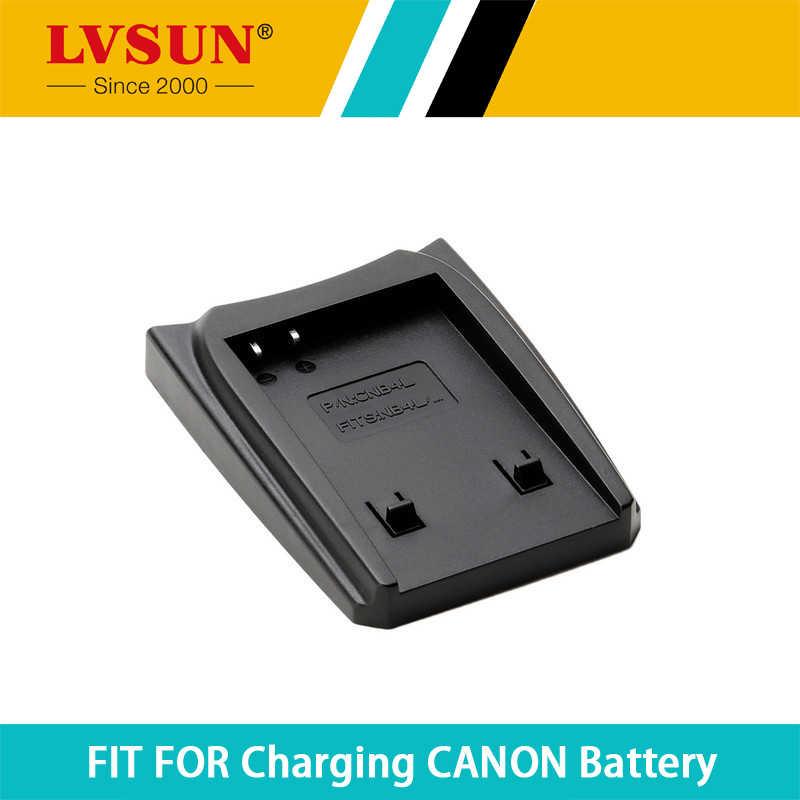 Lvsun nb-4l nb 4l nb4l recarregável placa de adaptador de bateria caso para canon ixus 30 40 50 55 110 is hs carregador de baterias
