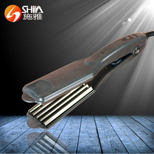 Corn tooth perm stick flat irons Wet and dry straight volume dual-use hair styling tools Ceramic electric hair curler fast hair