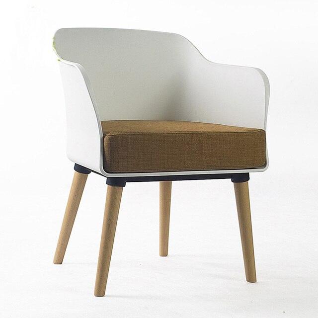 Coffee Shop Dining Chair Causal Chair PP Fashion Creative Armchair