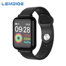 LEMDIOE smartwatch android Heart Rate Blood Pressure Monitoring Call Message Reminder Waterproof Fitness Tracker for Men Women