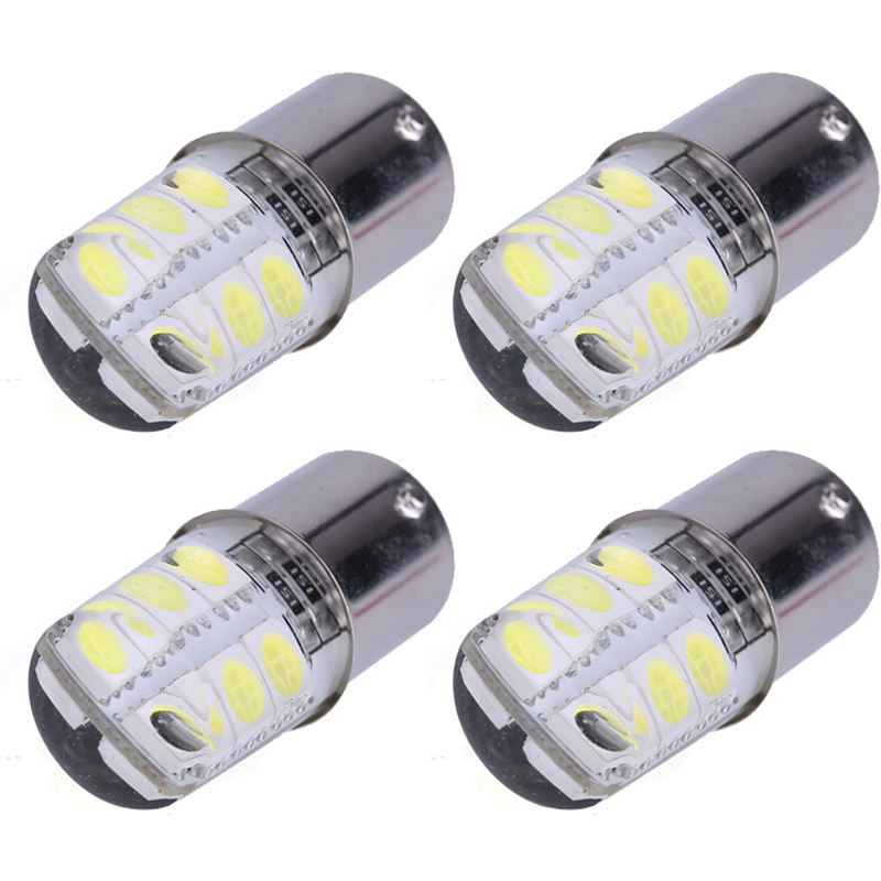 4PCS 1156 P21W BA15S COB Led Car Light  1156 5050 Smd 6 Led Brake Turn Signal Light Bulb Crystal Lamps Led 12V Car Accessories sports car door sill scuff plate guard sills for 2014 mazda 6 atenza m6