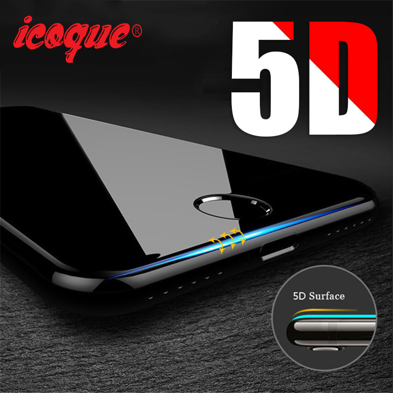 for 5D Glasses iPhone 6 6s Glass Film Full Cover iphone6 Screen Protect