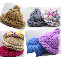 250g Super thick yarns for hand knitting Cushion blanket Hat Scarf Threads Soft Crocheting Iceland cotton Bulky yarn for weaving