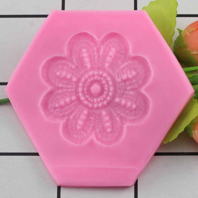 DIY форма цветка силиконовая форма помадка торт украшения формы Сахар Ремесло кухня выпечки Плесень шоколадные формы для мастики