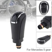 5 6 Speed Gear shift Knob ABS Plastic Transmission Gear Shift Handball Knob for Benz 5 6 Gear Models 2D недорого