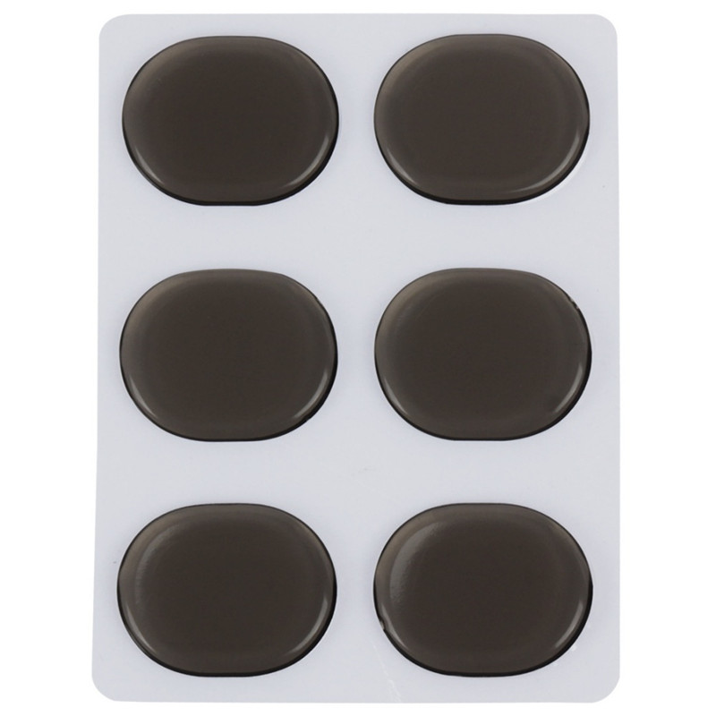 Good! 6Pcs silicone drum silencer pad drum damping pad Silencer gel pad for small drum sound control exercises im