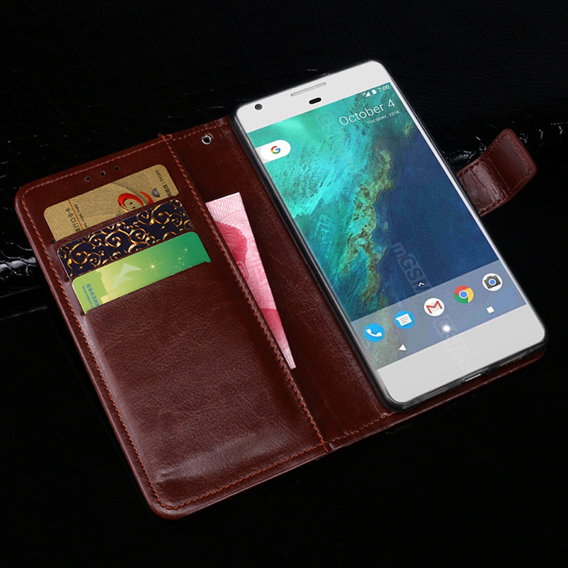 For HTC Google Pixel Case Colors Business Style Wallet Flip Leather Protective Cover For Google Pixel Cover