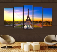 New arrivaled Diamond Cross Stitch The Eiffel Tower Diy Embroidery Full square Rhinestone picture Dmc Painting Mosaic Decoration