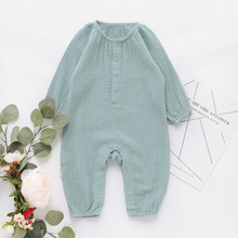 EnkeliBB Toddler Boys Jumpsuit Long Sleeve Romper Autumn Win