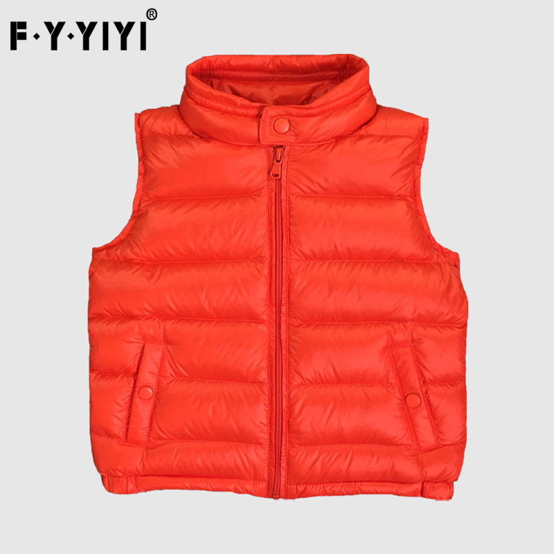 Light children's down jacket Children vest Boys and girls down vest Children's wear vest High quality white feather vest moos джинсовые брюки