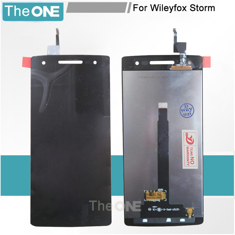 5 pcs For Wileyfox Storm LCD Display Touch Screen Digitizer Assembly Replacement Parts For Wileyfox Storm Free Shipping
