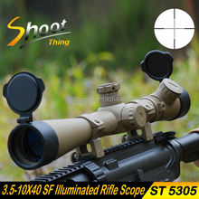 Cheapest prices ST5305 Shoot Thing Sniper Hunting Optics Riflescope 3.5-10X40 SF Illuminated Rifle Scope Mil-dot Reticle Telescopic Sight