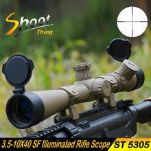 Cheapest prices ST5305 Shoot Thing Sniper Hunting Optics Riflescope 3.5-10X40 SF Illuminated Rifle Scope Mil-dot Reticle Telescopic Sight