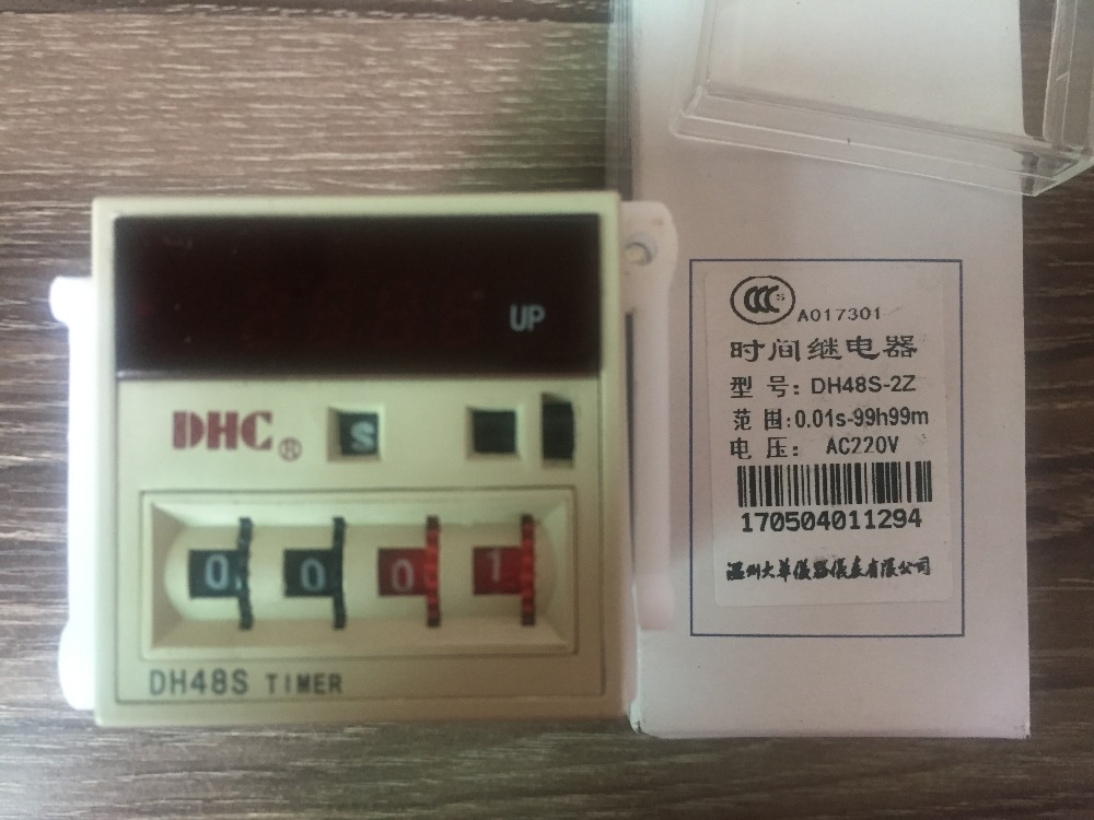 Wenzhou Dahua time relay DH48S-2Z UOB time relay 8 pin with sub-seat wenzhou dahua time relay dhc6a a3 power failure to maintain the call to continue with lcd backlight with backlight