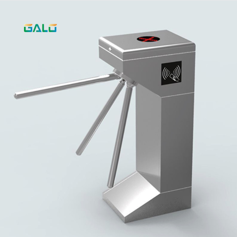 Stainless Steel Solenoid Driven Tripod Turnstile Gate Barrier for Access Control System