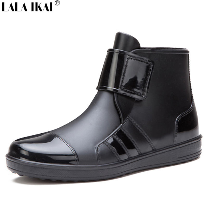 Popular Mens Black Rain Boots-Buy Cheap Mens Black Rain Boots lots ...