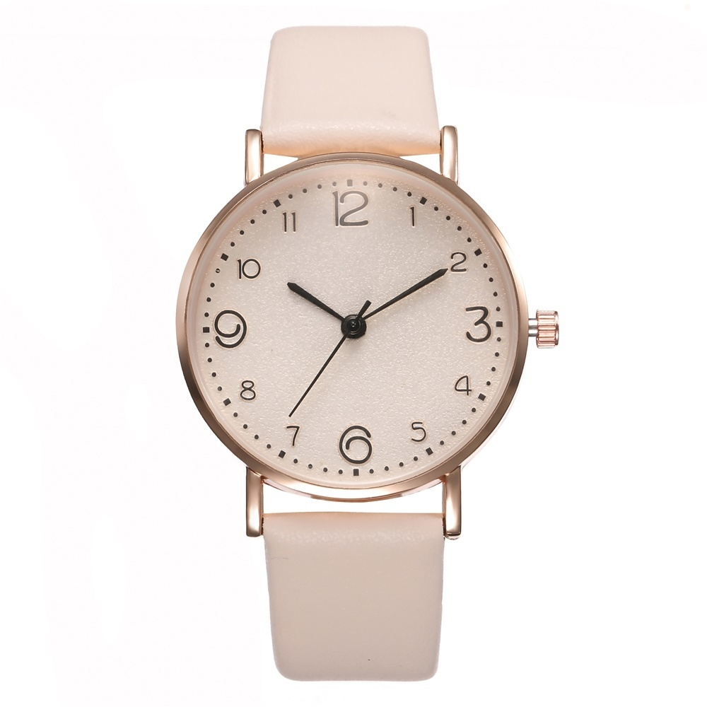 HTB1VE50QNjaK1RjSZKzq6xVwXXam New Style Fashion Women's Luxury Leather Band Analog Quartz