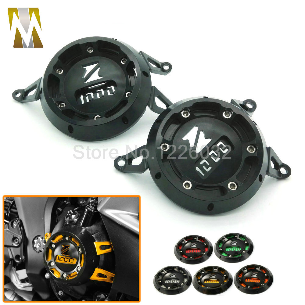 5 Colors Motorcycle Engine Stator Cover CNC Aluminum Engine Protective Cover Protector For Kawasaki Z1000 Z1000SX 2011-2015 engine stator crank case generator cover crankcase for kawasaki z1000 2003 2004 2005 2006 cnc aluminum black red