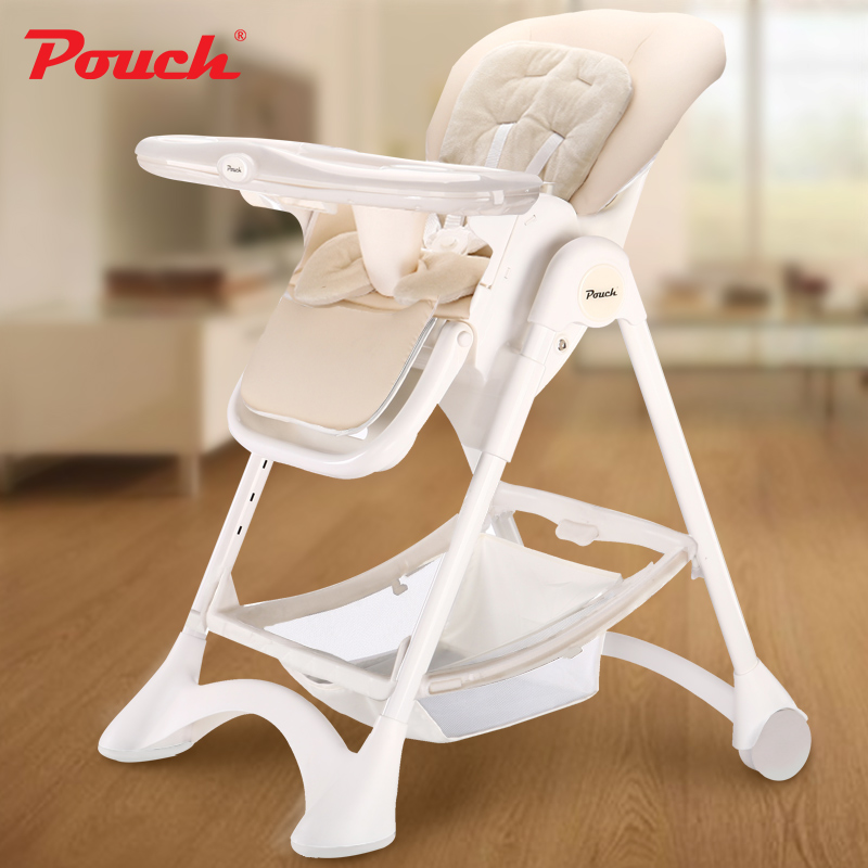 Pouch European Baby Chairs Children's Multifunctional BB Chair Foldable Portable Dining Tables and Chairs Seats foldable high chairs baby high chairs feeding table baby dining chair adjustable the height 0 6 years feeding seats
