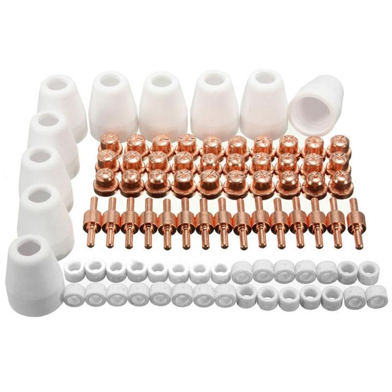 85 piezas LG-40 PT-31 aire Plasma Cutter corte consumibles alta calidad para CUT-50D CUT50