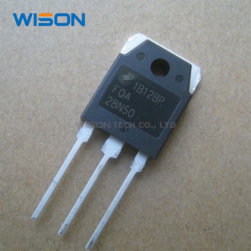 Generic 10Pcs FDA28N50F FDA28N50 or FQA28N50F or FQA28N50 28N50 TO-3P 28A 500V Power MOSFET Transistor