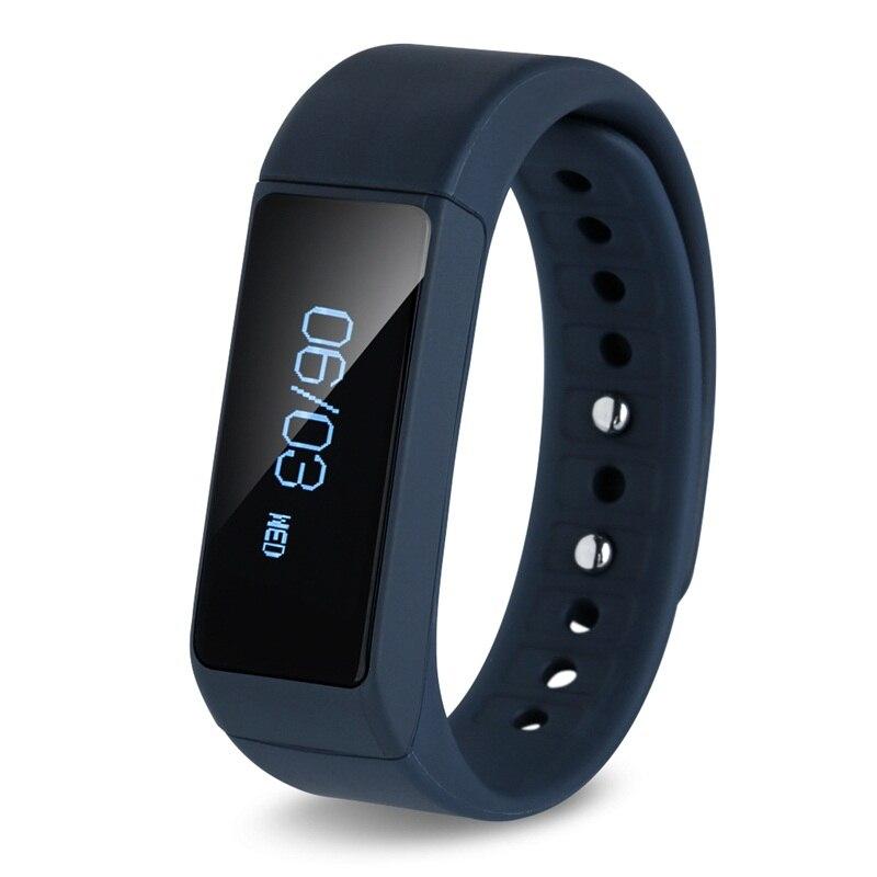 I5 Plus font b Smart b font Bracelet Bluetooth 4 0 Waterproof Touch Screen Fitness Tracker