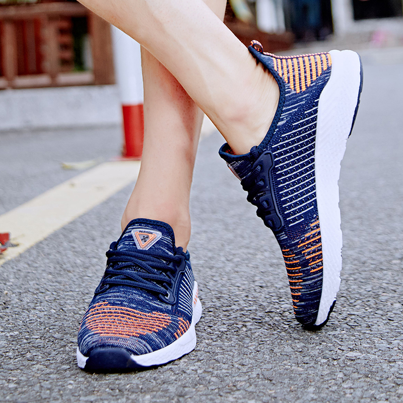 2019 New Men Shoes Lac up Casual Shoes Women Lightweight Comfortable Breathable Walking Sneakers Feminino Zapatos Size 48 in Men 39 s Casual Shoes from Shoes