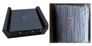 Image 5 - ספריית אבטחת מערכת EM רצועת deactivator/activator ספר תג נטרול מגנטיות מכונה אינפרא אדום חיישנים