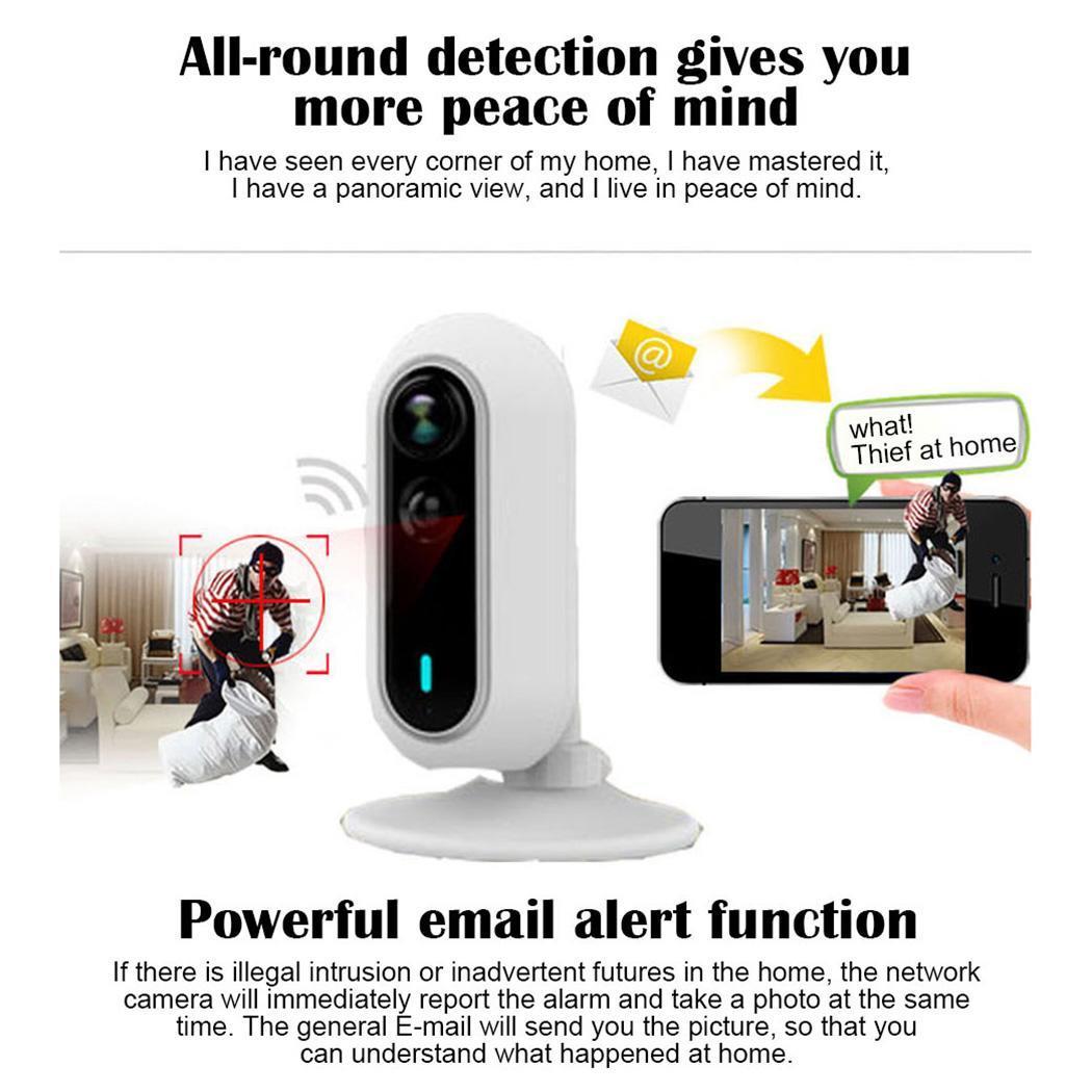 Bébé soins WiFi maison 1080 P surveillance de téléphone Mobile infrarouge 2.4 (mm) 10 m IP66 capteur alarme caméra sans fil - 5