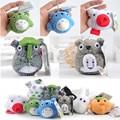 Japan Anime Peluche My Neighbor Totoro Toys Super Kawaii Cat Bus Totoro Neko Plush Dolls Bag Key Pendant 10pcs/lot 7cm