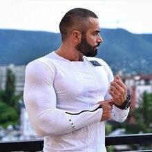 2016 jahr Die Körper Ingenieure Bodybuilding Fitness Rundhals Langarm-t-shirt Freizeit Tragen und Tragen