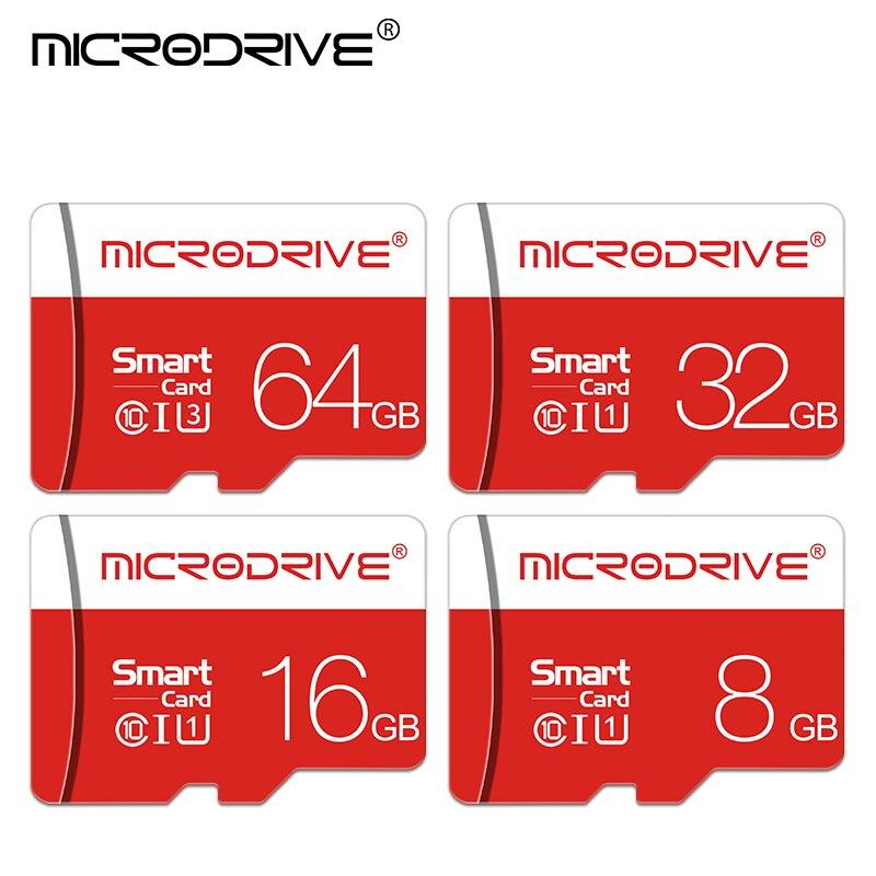 Image 2 - Microdrive High speed Flash Memory Card 8GB 16GB 32GB Micro card 64GB 128GB Class10 SDHC/SDXC tarjeta micro sd Cartao de memoria-in Micro SD Cards from Computer & Office