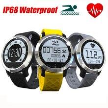 Neue ip68 wasserdicht smart watch linfo f69 fitness tracker herzfrequenzmesser schwimmen armband für ios android sport smartwatch