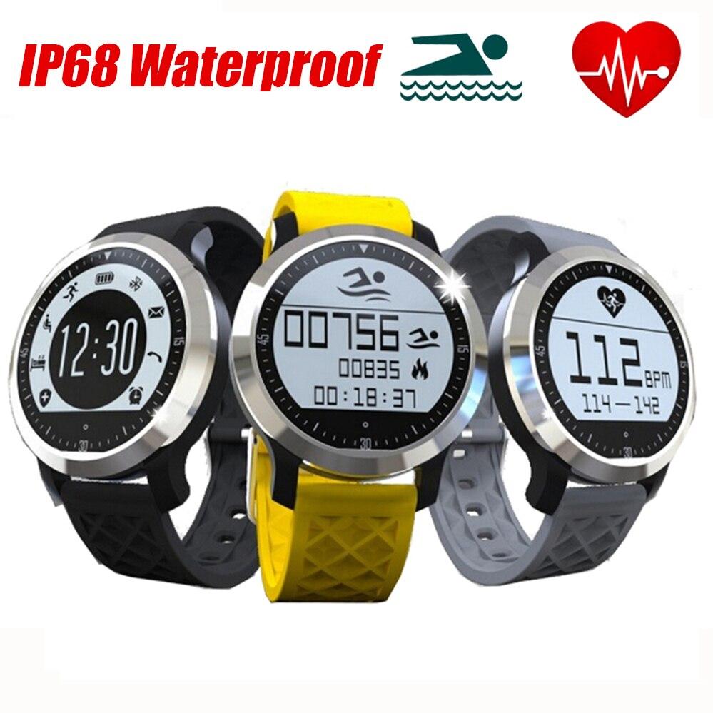 New IP68 Waterproof font b Smart b font font b Watch b font LINFO F69 Fitness
