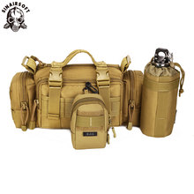 SINAIRSOFT Tactical Molle Bag Waterproof Waist Fanny Pack Hiking Fishing Sport Hunting combination Waist Bags Camping ZH108