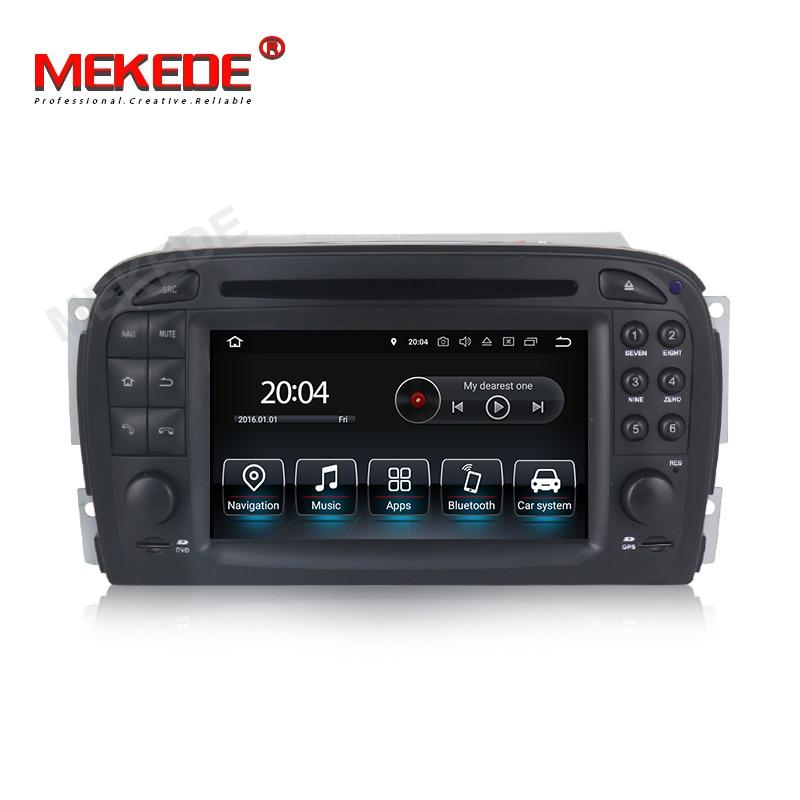 Mekede android 9.0 Unidade Central de Navegação GPS rádio Do Carro DVD player Do Carro Para Mercedes Benz SL R230 SL500 2001-2007 player multimídia